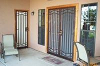 Iron Window Guards Home Security